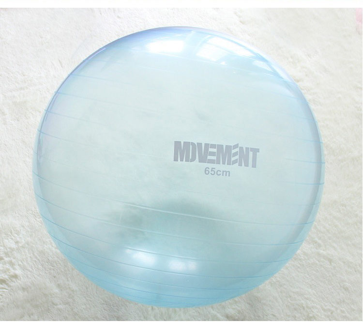 (พรีออเดอร์) YK1015P ลูกบอลโยคะโปร่งแสง ขนาด 85CM