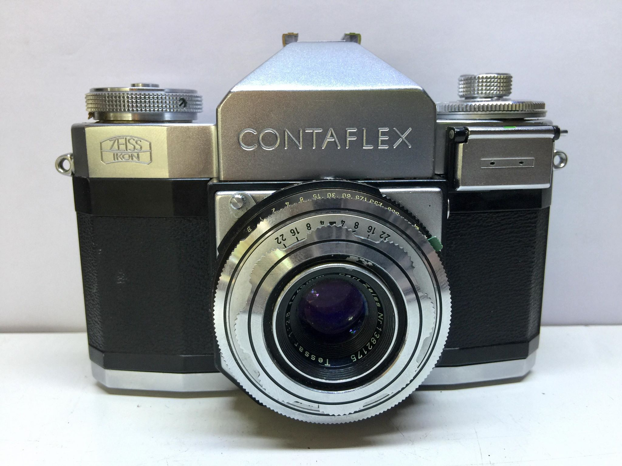 ZEISS IKON CONTAFLEX II CARL ZEISS TESSAR 45MM.F2.8