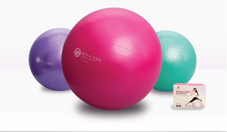 (พรีออเดอร์) บอลโยคะ Mi Ya ขนาด 75/55CM หนาพิเศษ รับน้ำหนักมากกว่า 500
