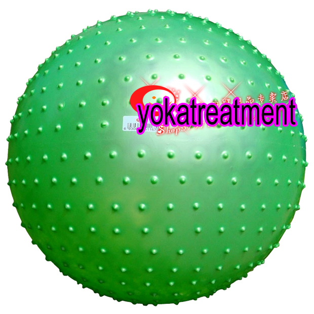 (พร้อมส่ง) บอลโยคะ แบบหนาม ขนาด 115/95 CM