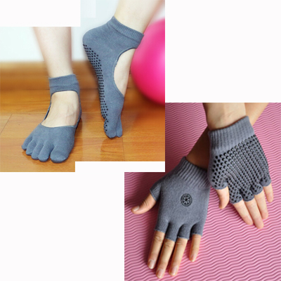 (พรีออเดอร์) ถุงมือ ถุงเท้าโยคะ กันลื่น YKSM30-50