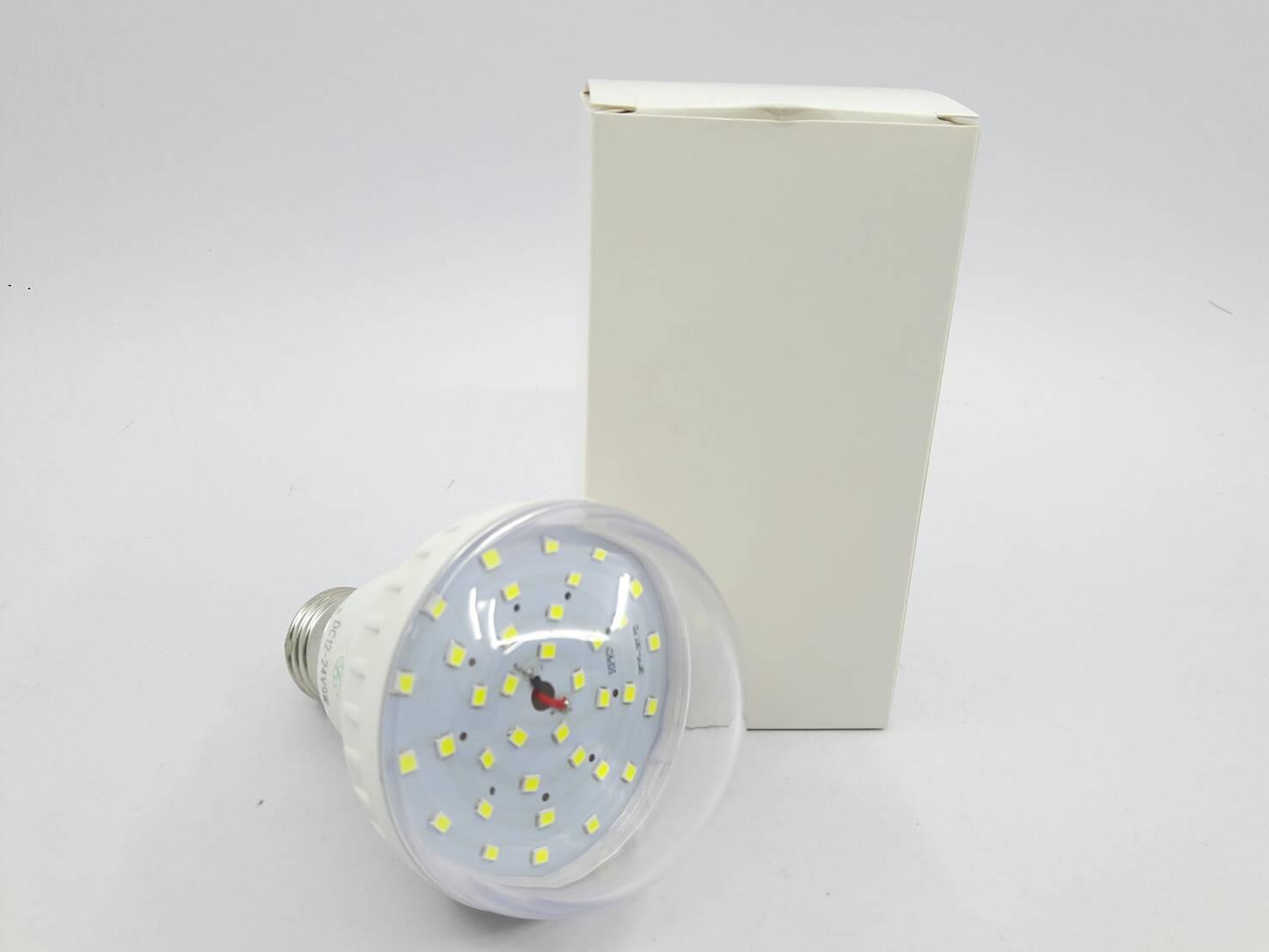 หลอดไฟ LED Bulb White 9W 12V/24V(สีขาว)