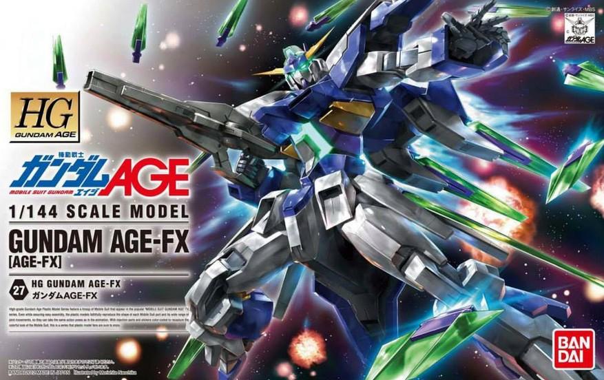 HG 1/144 GUNDAM AGE-FX