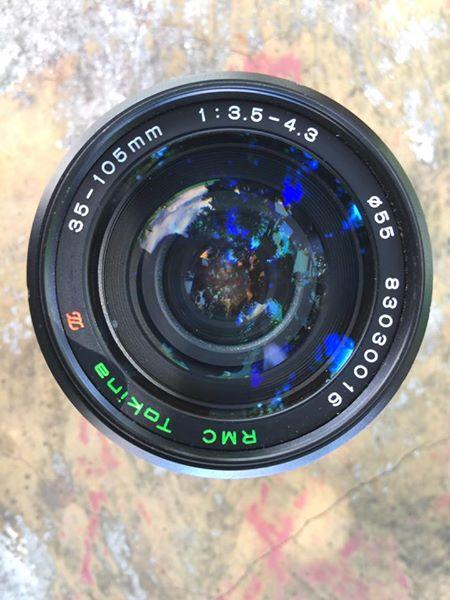 RMC TOKINA 35-105MM.F3.5-4.3 CLOSE FOCUS FD MOUNT