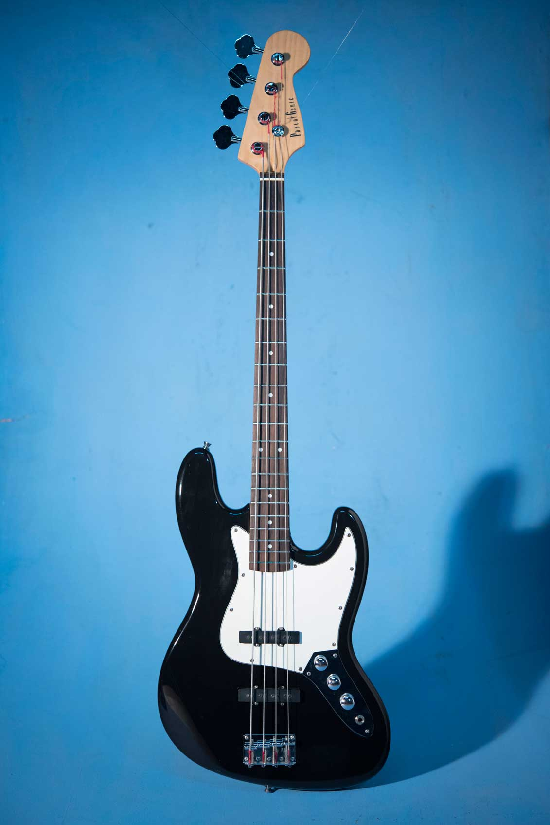 กีต้าร์ Bass ไฟฟ้ามือสอง Photogenic JB Black