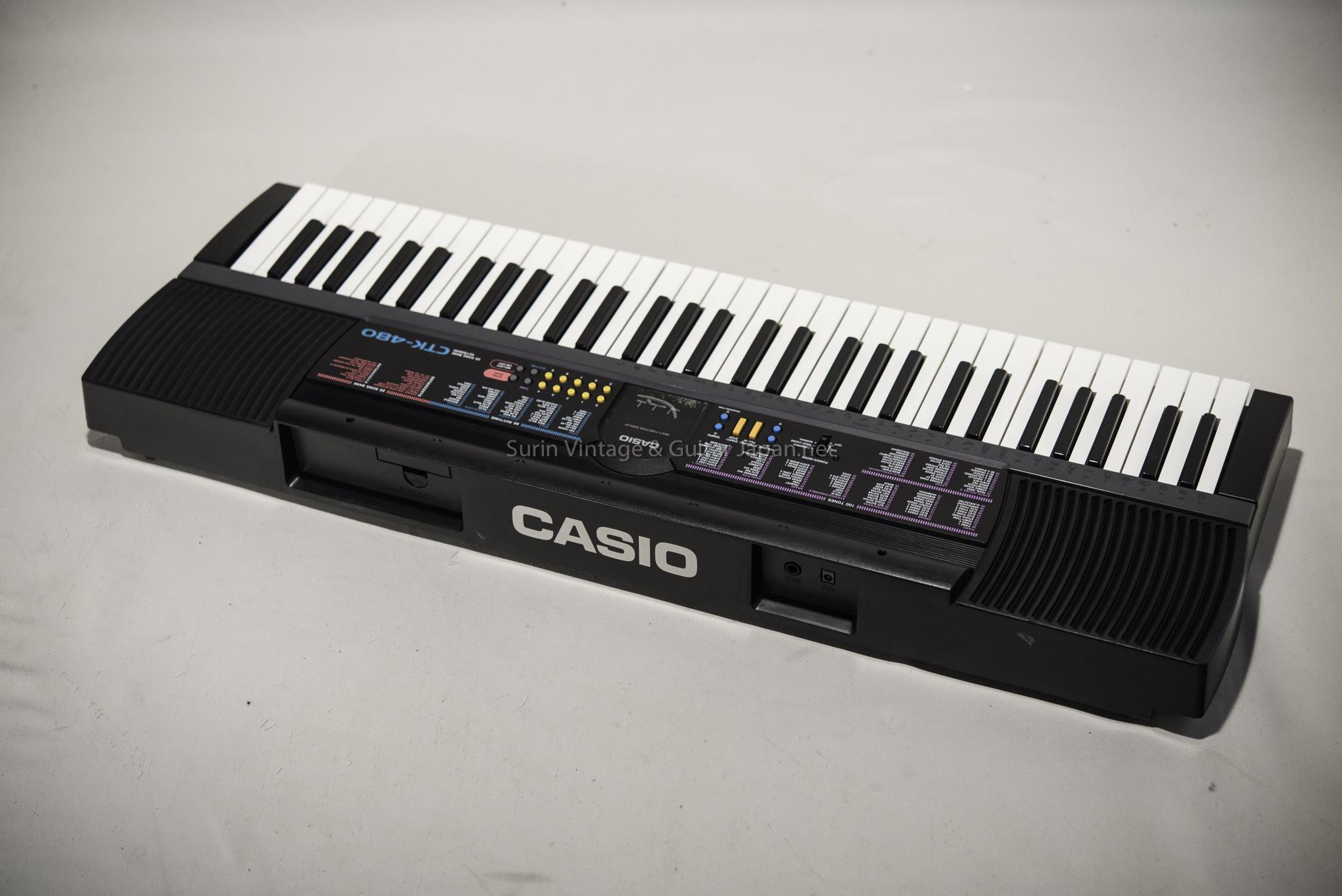 คีย์บอร์ดมือสอง CASIO CTK-480