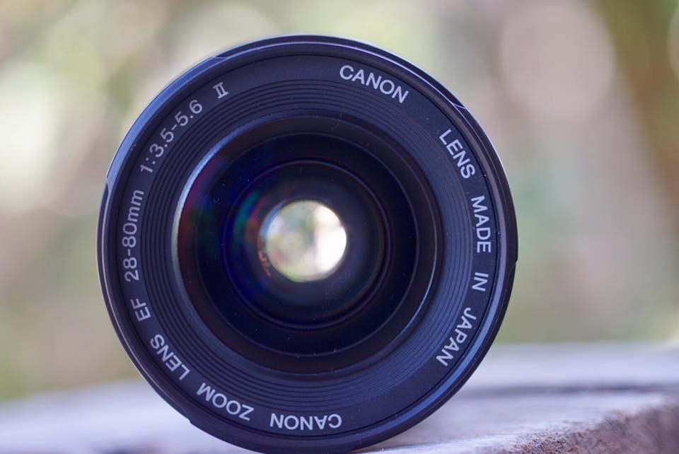 CANON Zoom LENS EF 28-80MM. F3.5-5.6 II EF MOUNT