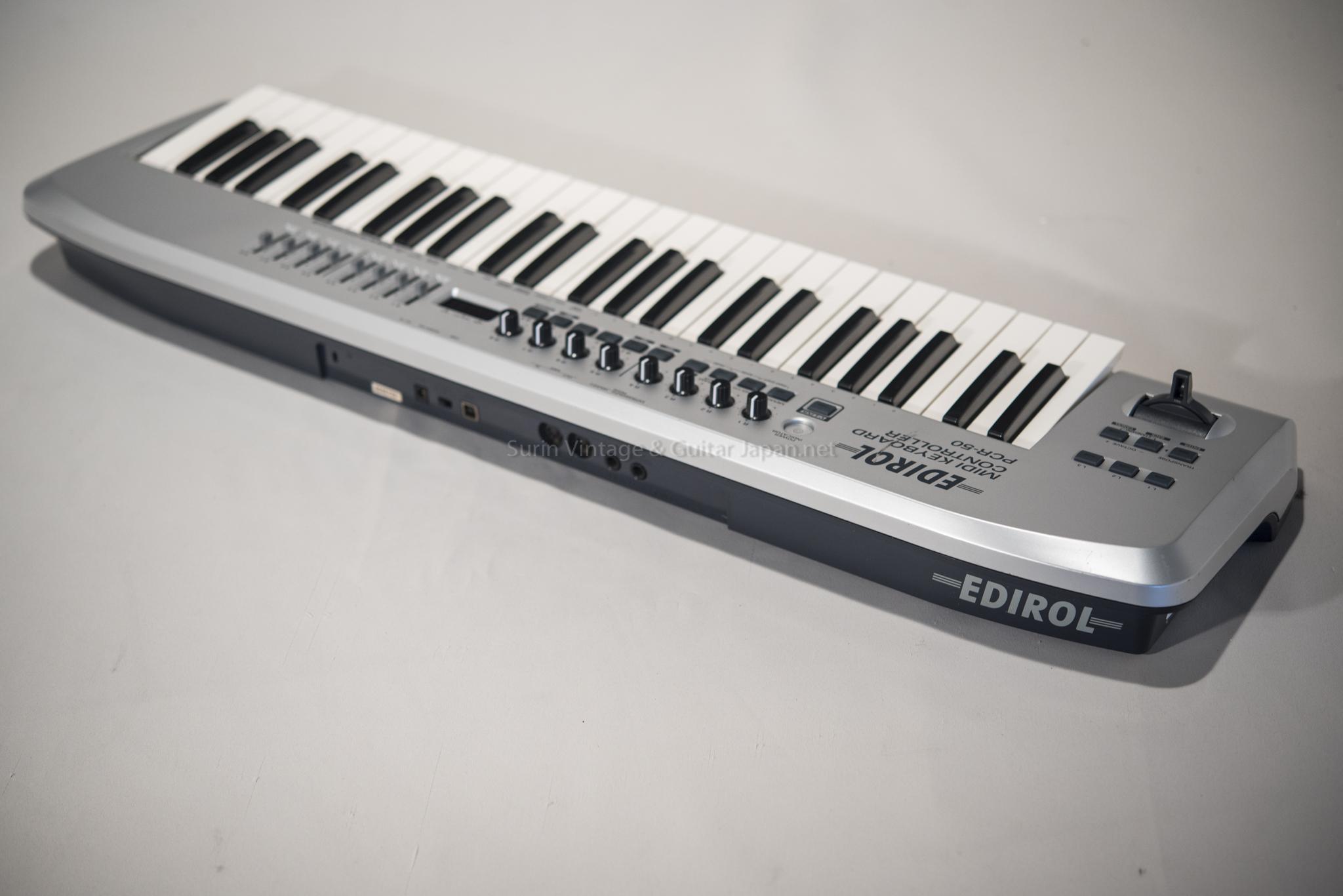 คีบอร์ดมือสอง ROLAND EDIROL PCR-50 Midi Keyboard