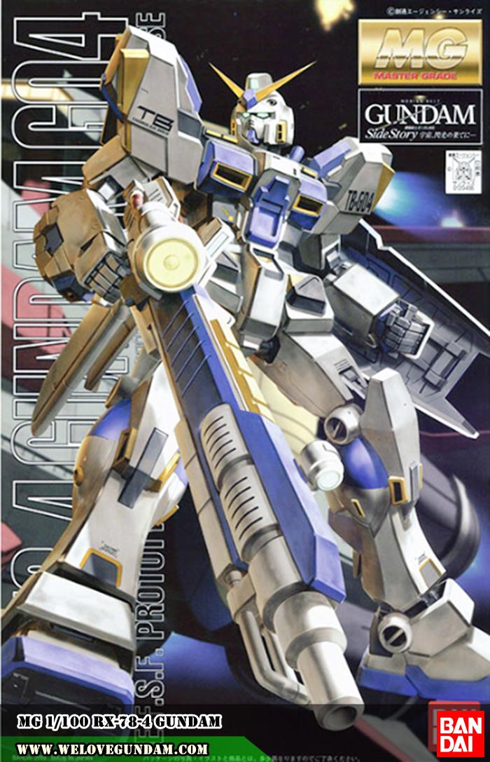 MG 1/100 RX-78-4 GUNDAM