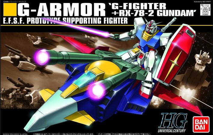 HGUC 1/144 G-ARMOR