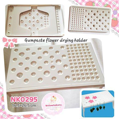 Gumpaste flower drying holder