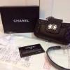 (Mirror) Chanelงานhi-end ใส่มือถือ ใส่เงิน มีซิปด้านใน บุผ้ากำมะหยี่