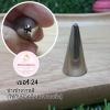 หัวบีบครีม/หัวบีบเกาหลี เบอร์ 24 (Close star tip)