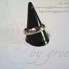 แหวนถมเงิน หน้ากว้าง 5 mm. โดย เครื่องถมนคร by green