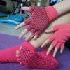 (พร้อมส่ง) YKSM50-2 ถุงมือ ถุงเท้าโยคะ กันลื่น