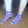 (พรีออเดอร์) YKA60-5-8P ถุงเท้าโยคะ กันลื่น