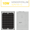 แผงโซล่าเซลล์ Solar Cell 10W Mono
