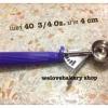 ที่ตักไอศครีม ของเกาหลี เบอร์ 40( 3/4 ออนซ์ / ปาก 4 เซนติเมตร)