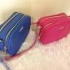 กระเป๋าแบรนด์ Ochirly สะพายข้าง สายปรับได้ มี 2 ช่อง พร้อมส่ง : น้ำเงิน/ ชมพู ขนาด เดี๊ยวมาแจ้งค่ะ ราคา 1090 บาท TT