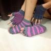 (พรีออเดอร์) ถุงมือ ถุงเท้าโยคะ กันลื่น YKSM50-12