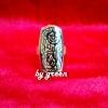 แหวนถมทอง หน้ากว้าง 1.8*3 cm. โดย เครื่องถมนคร by green