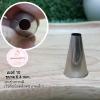 หัวบีบครีม/หัวบีบเกาหลี เบอร์ 10 (Round tip)
