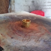 แหวนถมทองแบบแบน 1.5 cm. โดย เครื่องถมนคร by green