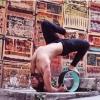 (พรีออเดอร์) Yoga Wheel วงล้อ สำหรับ โยคะ YK9018P (32*13cm)