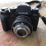 Konishiroku Hexanon 50mm. F2.8 Modifly Fujifilm FX Mount
