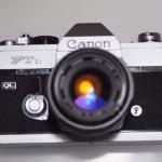 CANON FTb QL CANON FL LENS 50MM.F1.8