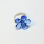 Plastic Flower Fancy Ring แหวนดอกไม้ RI002