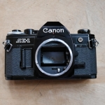 CANON AE-1 BLACK BOBY