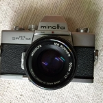 Minolta SRT101 Minolta MD Rokkor 50mm. f1.7