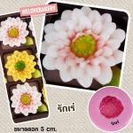 พิมพ์ยางซิลิโคน 3D ลายดอกรักเร่