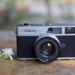 Canon Canonet QL Canon Lens SE 45mm. F1.9