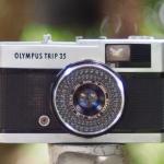 OLYMPUS TRIP 35 OLYMPUS D ZUIKO 40MM.F2.8