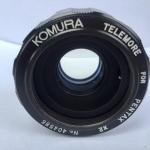 KOMURA TELEMORE FOR PENTAX 2X LENS M42 MOUNT