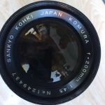 KOMURA 200MM. F4.5 MD MOUNT