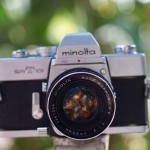Minolta SRT101 Minolta Rokkor-PF 55mm. F2