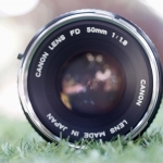 CANON LENS FD 50MM. F1.8 SILVER NOSE FD MOUNT