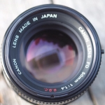 Canon Lens FD 50MM. F1.4 S.S.C FD Mount