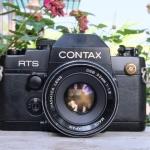 CONTAX RTS II QUARTZ YASHICA LENS DSB 50MM.F1.8