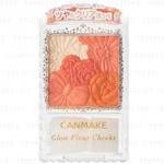 CANMAKE Glow Fleur Cheeks #03 Fairy Orange Fleur 6.3g. บลัชออนเนื้อฝุ่นโปร่งแสง