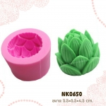 พิมพ์ยางซิลิโคน 3D ลาย ดอกบัวตูม