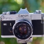Canon FTB QL Canon Lens FL 50mm. f1.8