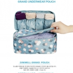 "TB61 กระเป๋าใส่ชุดชั้นใน ""Pattern Underwear Pouch"""