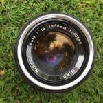 Nikon S Auto 50mm. F1.4 Non ai mount