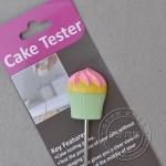 CAKE tester ลายคัพเค้ก เขียว ส้ม(ที่ทดสอบเค้กสุก)