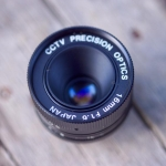 CCTV PRECISION OPTICS 16 MM. F1.6 C MOUNT