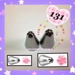 หัวบีบครีม/หัวบีบเกาหลี เบอร์ 131 ( Drop Flower Tubes)